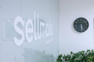 Sellmate - Logotyp och klocka